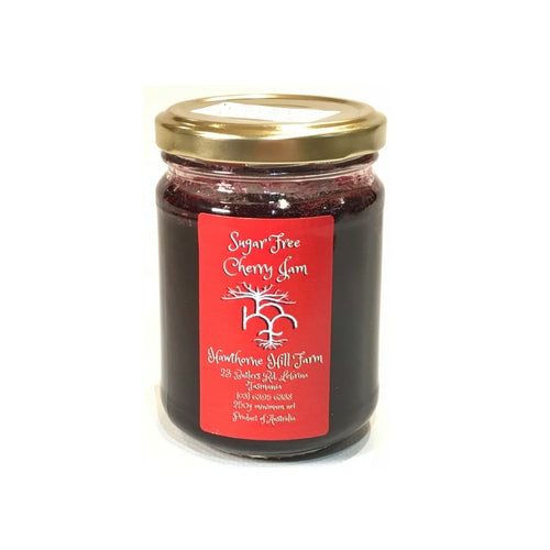 Low Carb Low Sugar Cherry Jam