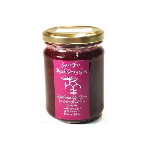 Low Carb Low Sugar Mixed Berry Jam