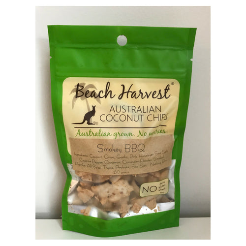 Beach Harvest Smokey BBQ coconut chips
