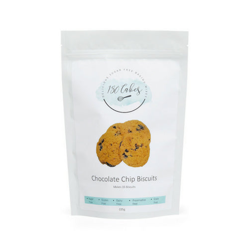 Sugar free gluten free chocolate chip cookie