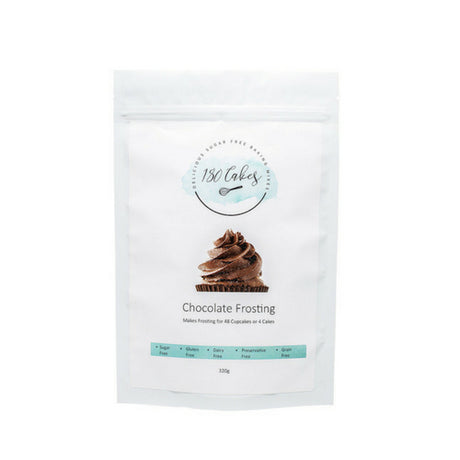Sugar free chocolate icing mix
