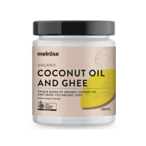 Coconut Oil and Ghee - Organic Grass-Fed 380ml
