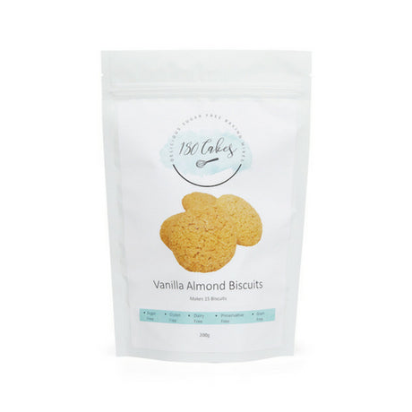 Sugar free vanilla almond cookie mix
