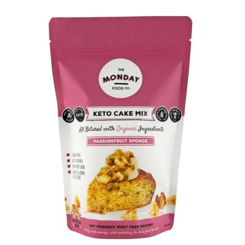 The Monday Food Co Keto Passionfruit  Sponge Mix