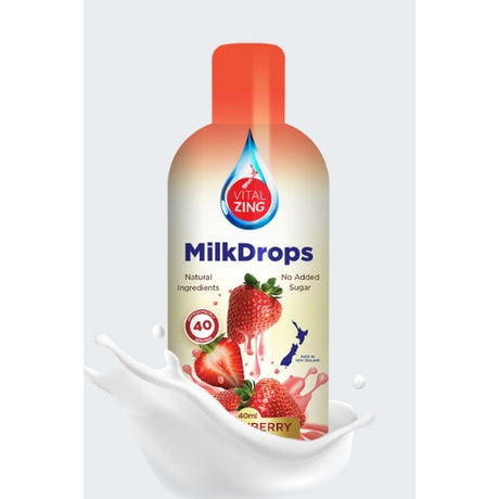 Strawberry Milk Flavouring Drops - 40 serves
