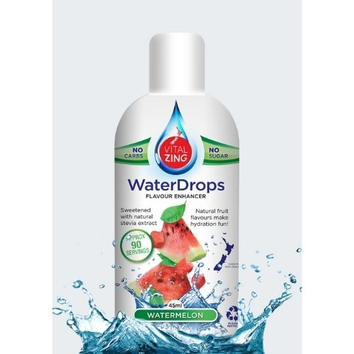 Watermelon Flavour Water Drops - 90 serves