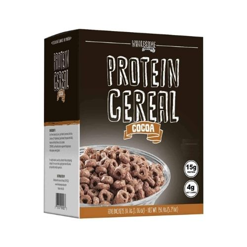 Wholesome Provisions Low Carb Cocoa Protein Cereal