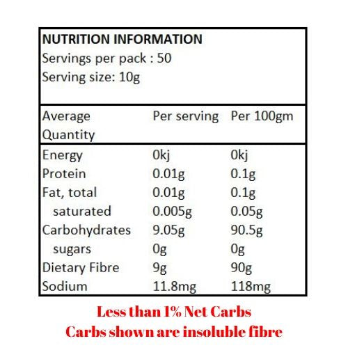 Healthy & Wise Oat Fibre - 500g