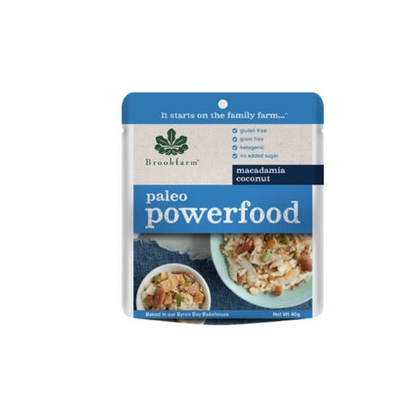 Brookfarm Paleo Macadamia Powerfood Granola - 40gm