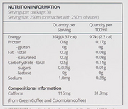 Coffee - One Caramel High performance 30 sachets