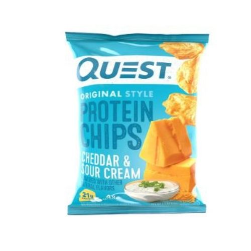 Quest Cheddar and Sour Cream Protein Chips