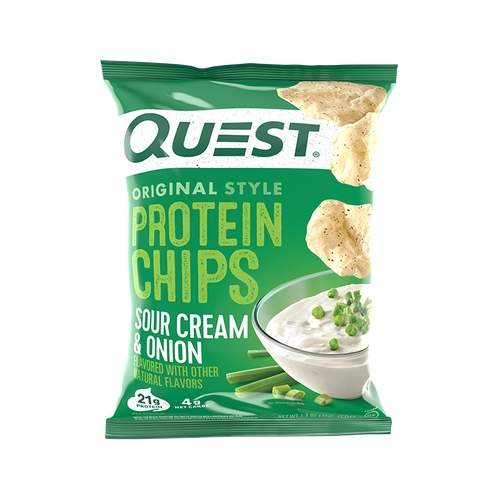 Sour Cream & Onion Protein Chips - 32gm