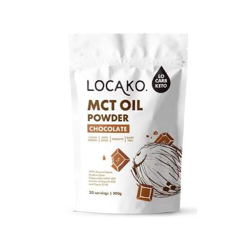 Locako chocolate MCT Oil Powder