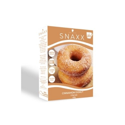 Snaxx One Minute Cinammon Donut  - 2 pack