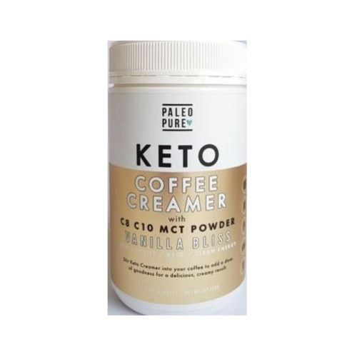Keto Coffee Creamer - Vanilla Bliss 250gm