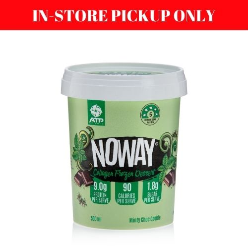 Noway Mint Choc Cookie Ice Cream - 500ml (in-store pickup only)