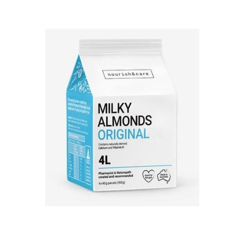 Nourish & Care Milky Almonds Original