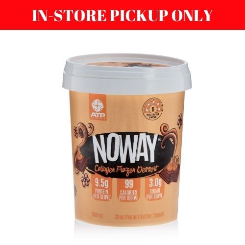 Noway Choc Peanut Butter Crunch Ice Cream - 500ml (in-store pickup only)