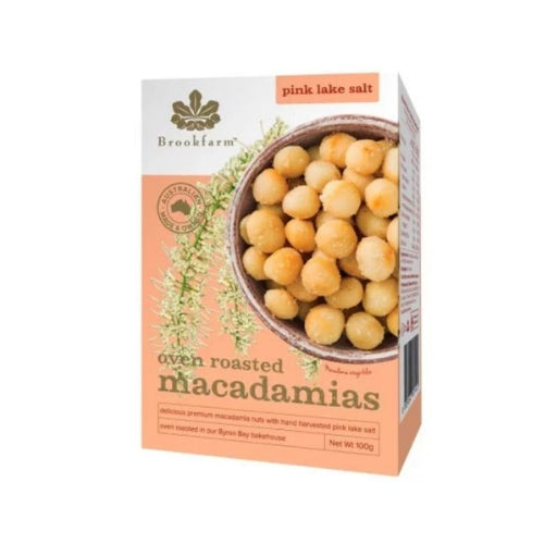 Brookfarm - oven roasted macadamia pink lake salt