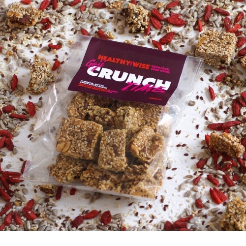 Healthy & Wise Crunch Time Goji - Sesame Nutty Sweet Snack - 140g