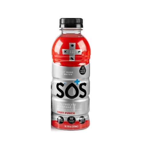 SOS Lifestyle Ready to Drink - Fruit Punch - 500mL
