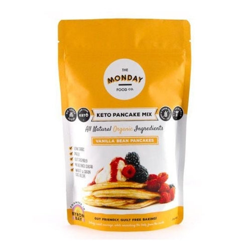 The Monday Food Co Keto Vanilla Bean Pancake Mix