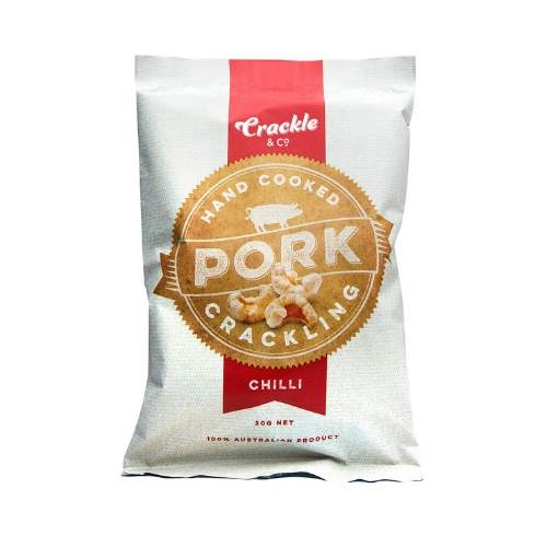 Pork Crackling - Chilli 30gm