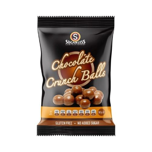 Sugarless Confectionery Chocolate Coated Crunch Balls