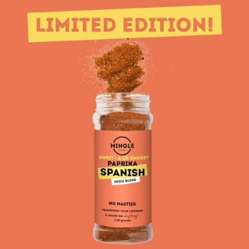 Mingle Limited Edition Spanish Seasoning -120g