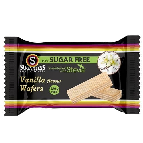 Sugarless Confectionery Vanilla Flavour Wafers