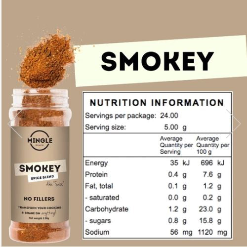 Spices - Sass Smokey 50gm