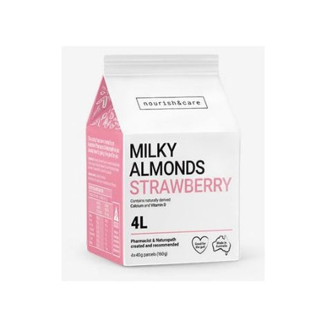 Milky Almonds Strawberry - 160gm