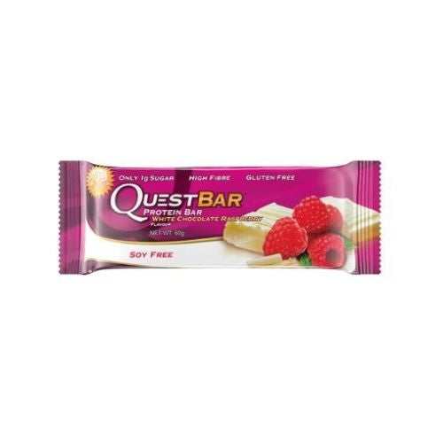 Quest Protein Bar White Choc Raspberry