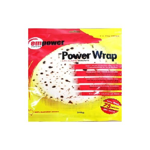 Empower Foods Power Wrap Low Carb Wraps