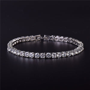 Iced Zircon Tennis Chain Bracelet