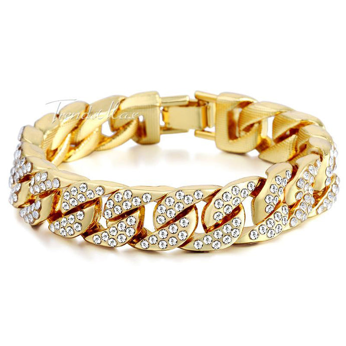 Curb Cuban Bracelet 14MM