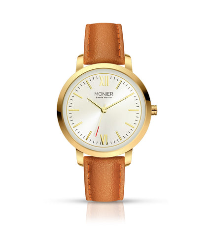 Emelia Monier W Palace Gold Tone Women's Watch Ref. No: EML001-02BR