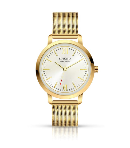 Emelia Monier W Palace Gold Tone Women's Watch Ref. No: EML001-02GL