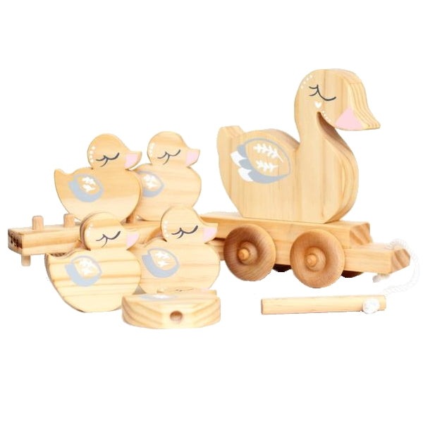 From The Art - Ducky Travel Buddy - duck pull along toy