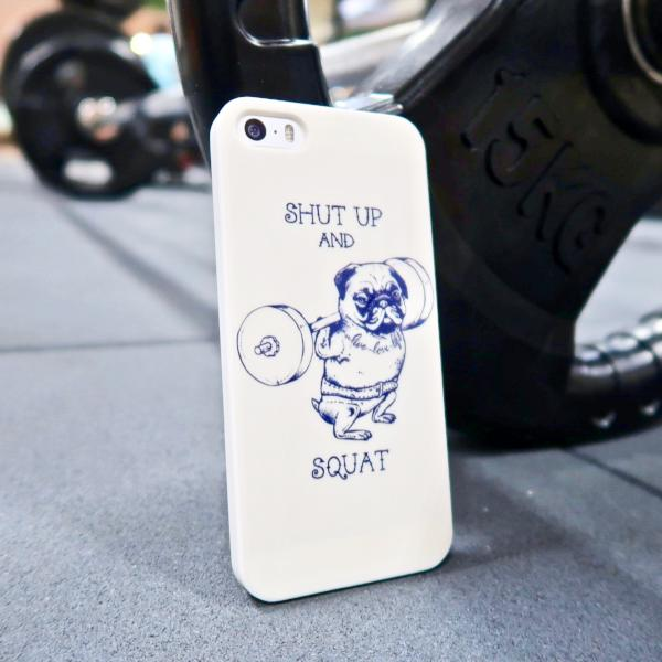 Shut Up & Squat iPhone case
