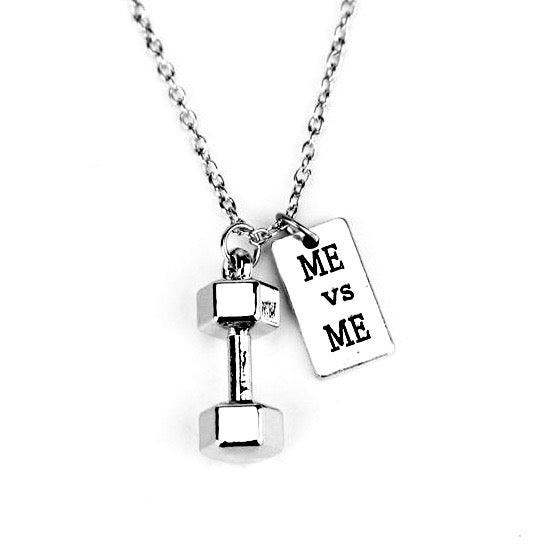 Fitness Motivation Necklace