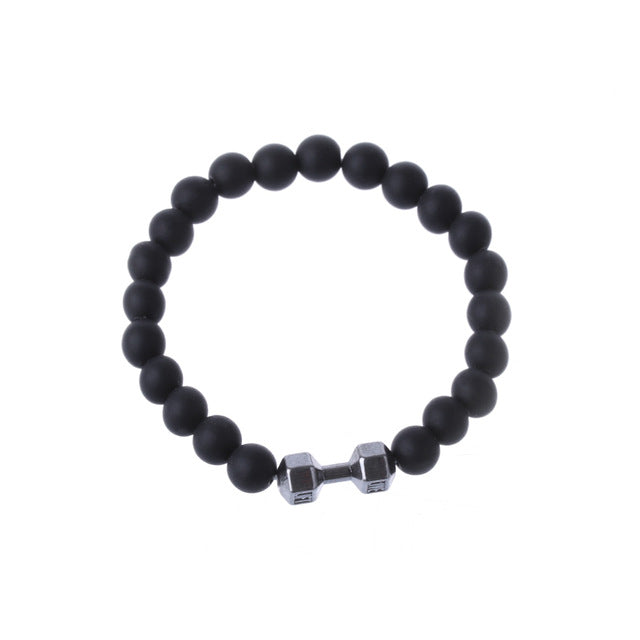 Fit Motivation Stone Bracelet