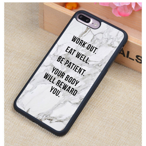 Fitness Discipline iPhone Case