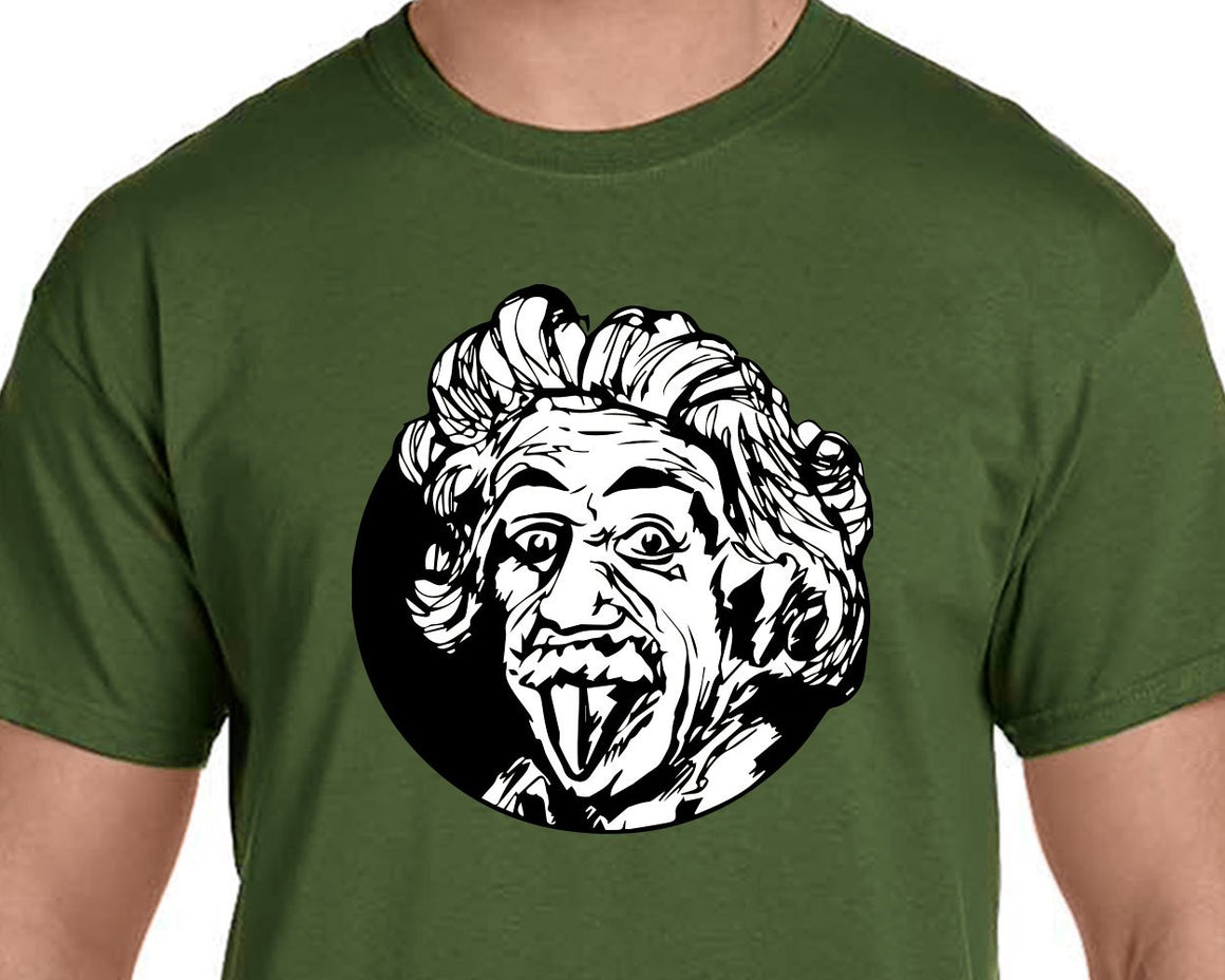 Einstein Having Fun t-shirt