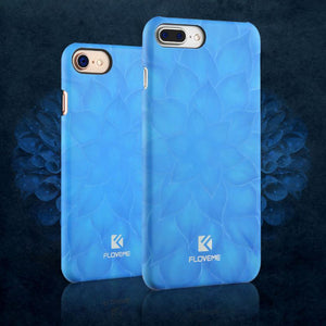 iPhone 7 (Plus) Luminous Blue Lotus Flower Case