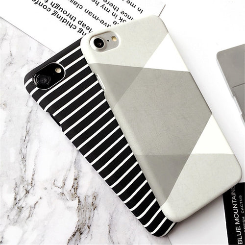 iPhone 7 (Plus) Case Zebra Stripe