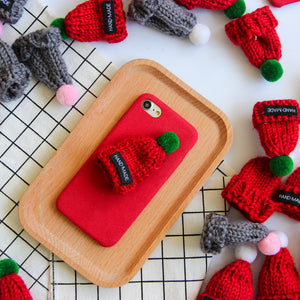 iPhone X Warm Hat With Bubo