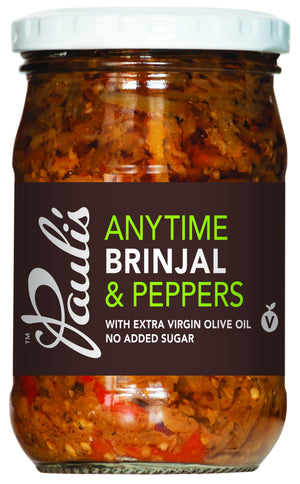Anytime Brinjal & Peppers