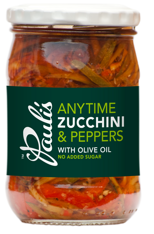 Anytime Zucchini & Peppers