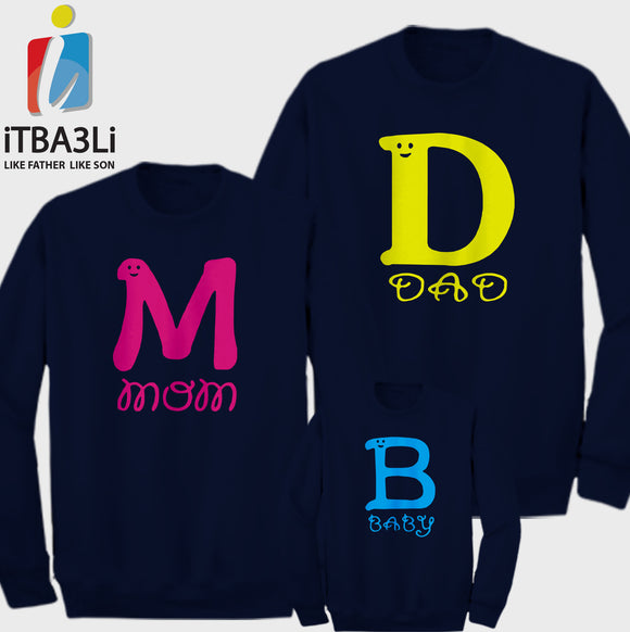 M, D And B